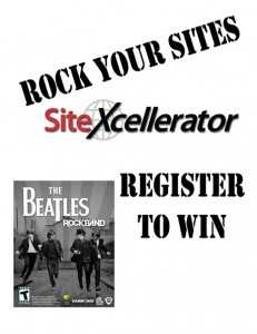 Beatles Rockband Rock Your Sites Tradeshow Display