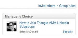 LinkedIn Group Rules Link